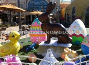 Easter Prop Display