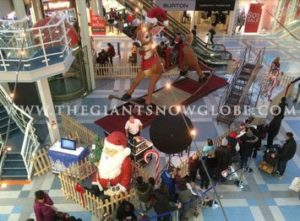 Giant Rocking Reindeer