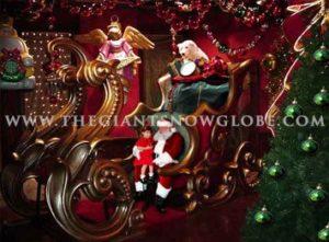 Giant Santa Sleigh