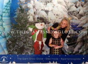 Giant Snow Globe Emma B