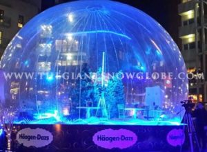 Ice Cream Snow Globe