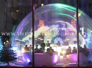 Giant Snow Globe Restaurant