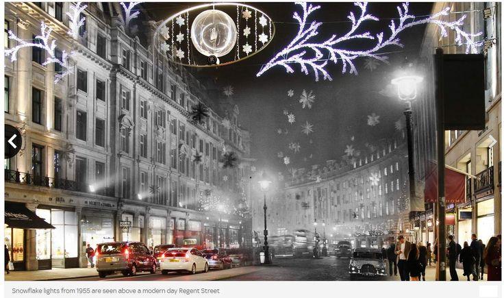 Regent Street 1955 Snow Globes