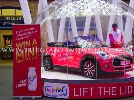 Automobile Golden Ticket Actimel Win A Mini