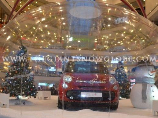 Automobile Snow Globe Fiat