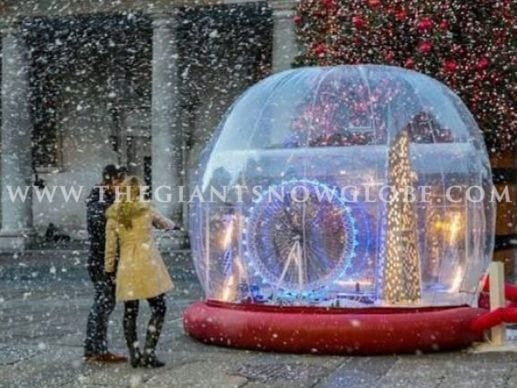 Bespoke Walk Through Snow Globe