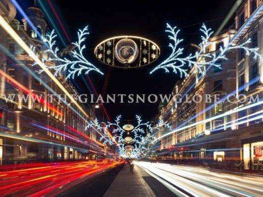 Christmas Lighting Display Globes
