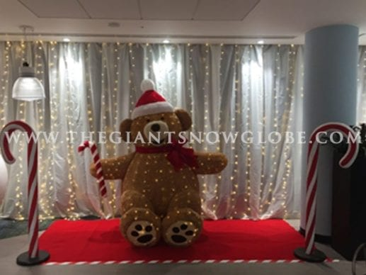Giant Christmas Bear
