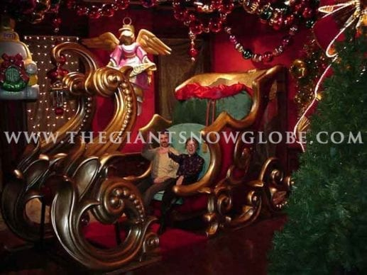 The Giant Santa Sleigh