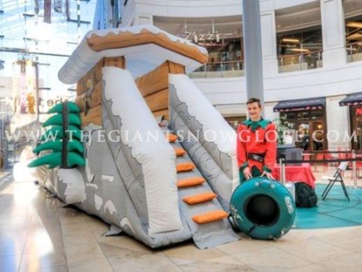 Mini Toboggan Slide