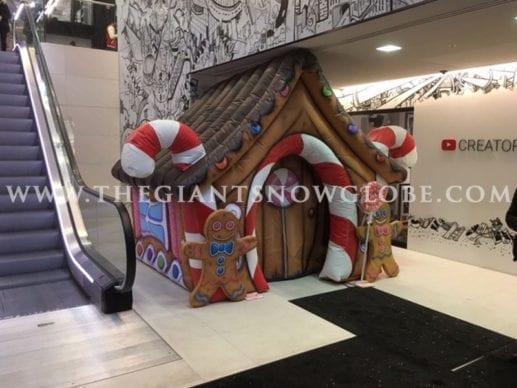 Santa Grotto Gingerbread House