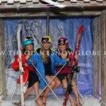 Wooden Ski Lift Photo Booth