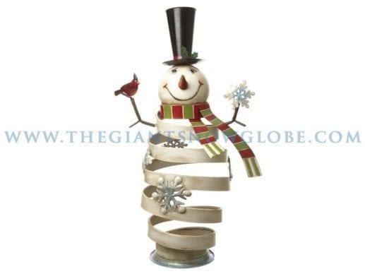 Metal Bouncy Snowman