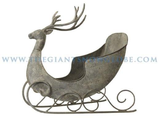 Reindeer Sleigh Display Prop